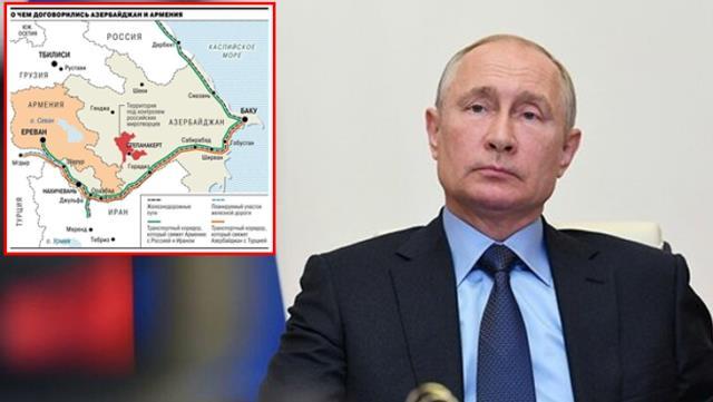 rus basini tarihi daglik karabag haritasini yayinladi azerbaycan ile turkiye dogrudan birbirine baglaniyor 2 FkOme8mk - Azerbaycan ile Türkiye doğrudan birbirine bağlanıyor