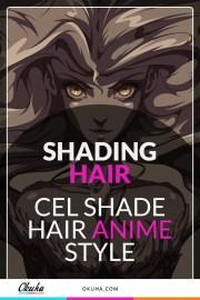 shade hair - step-step