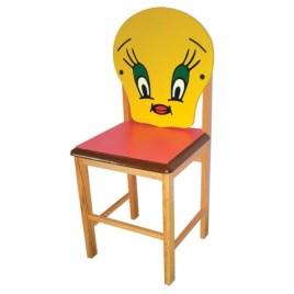 KRS-02 Ahşap Figürlü  Kreş Sandalyesi