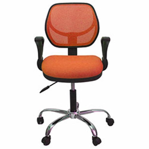 turuncu fileli çalışma koltuğu