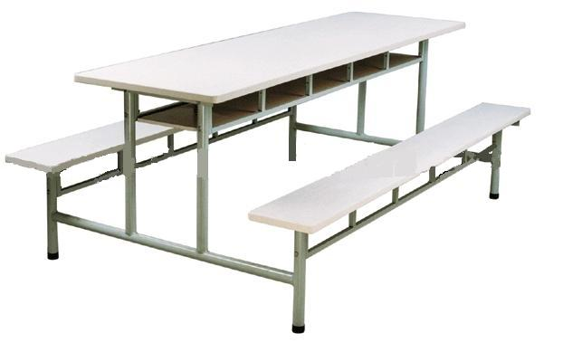 YM-05 Oturma Banklı Yemekhane Masası