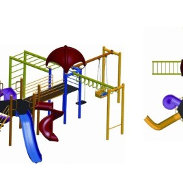 OPC-04 Çocuk Oyun Parkı