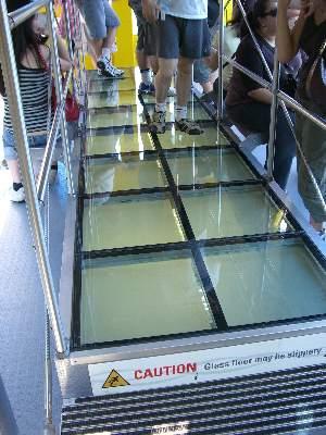 透明にできる床の部分 (不透明状態)
