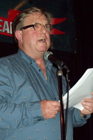 Ian Burgham at Art Bar Reading Series April 4, 2017 in Toronto