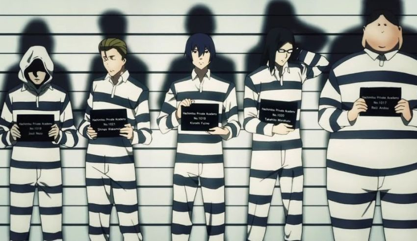 Prison School Manga Anime