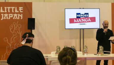 Conferencias de Heroes Manga Madrid