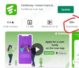 How to borrow money from FairMoney in 5 minutes