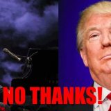 Entertainers say NO to Trump