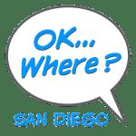Speech Bubble Single Logo San Diego