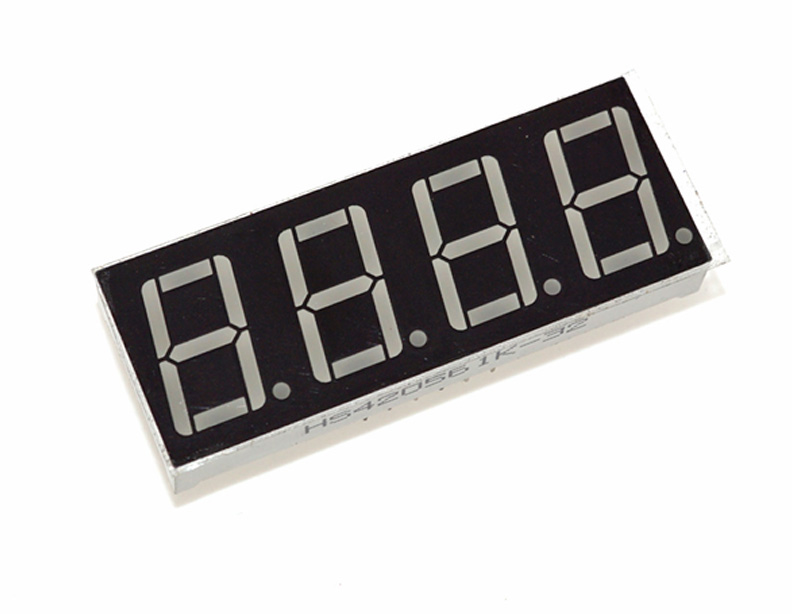 Led Cheap 4 Digit 7 Segment Display Driver Electrical Engineering