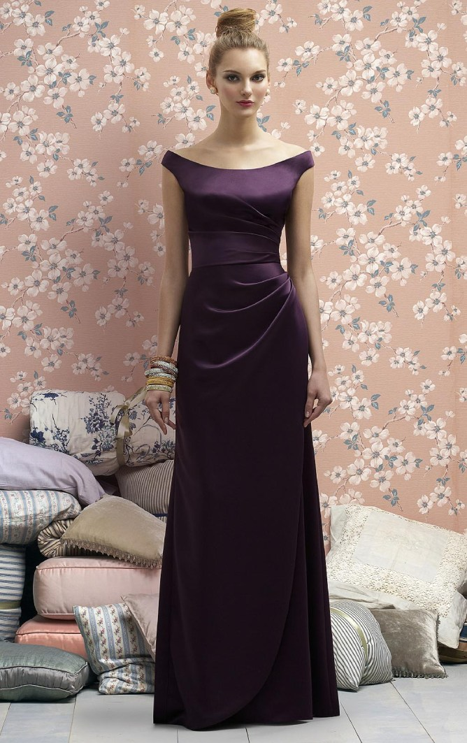 Brilliant-A-line-Scoop-Short-Sleeves-Occasions-Dresses-21509