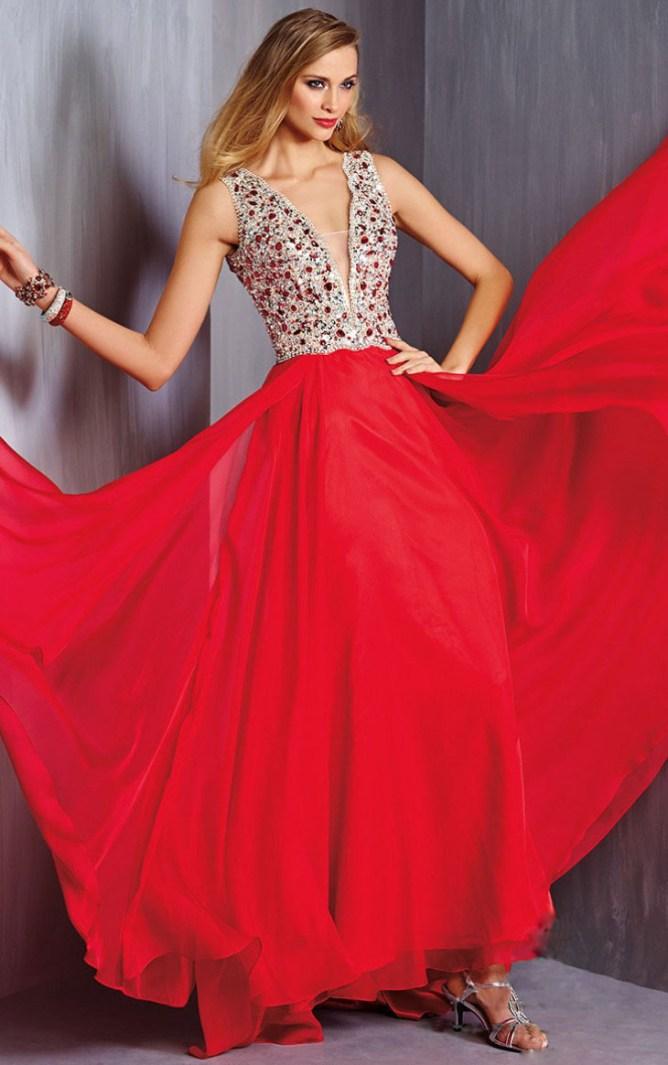 Floor-length-Zipper-Chiffon-Mature-Evening-Dresses-6934
