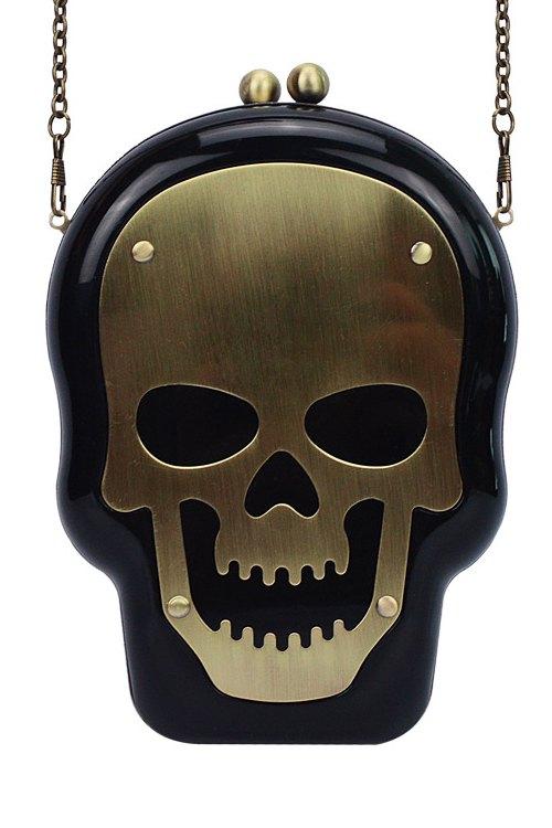 Torebka w kształcie czaszki
