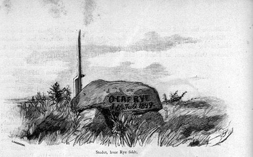 Olaf Rye 6. juli 1849