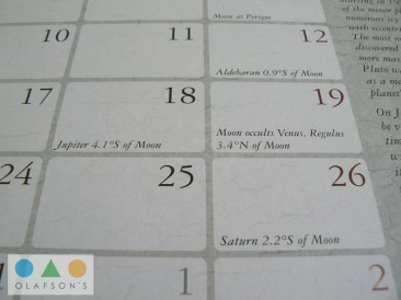 Dreamlands Kalender Juli moon