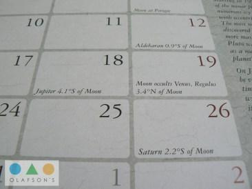 Dreamlands Kalender Juli moon