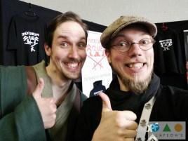 Matthias und ich, die Blog-Giganten
