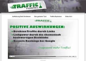 Das Video zeigt wie Du Kostenloser Traffic und Backlinks für die Website erzeugen kannst