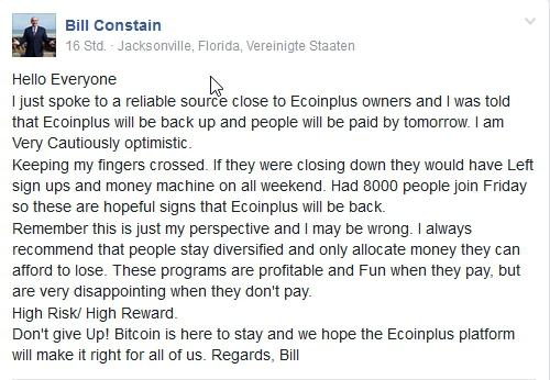 ECoinPro is gone