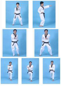 Teknik Dasar Taekwondo Untuk Pemula : teknik, dasar, taekwondo, untuk, pemula, Latihan, Taekwondo, Sabuk, Putih, Penting, Untuk, Dikuasai, OlahragaPedia.com