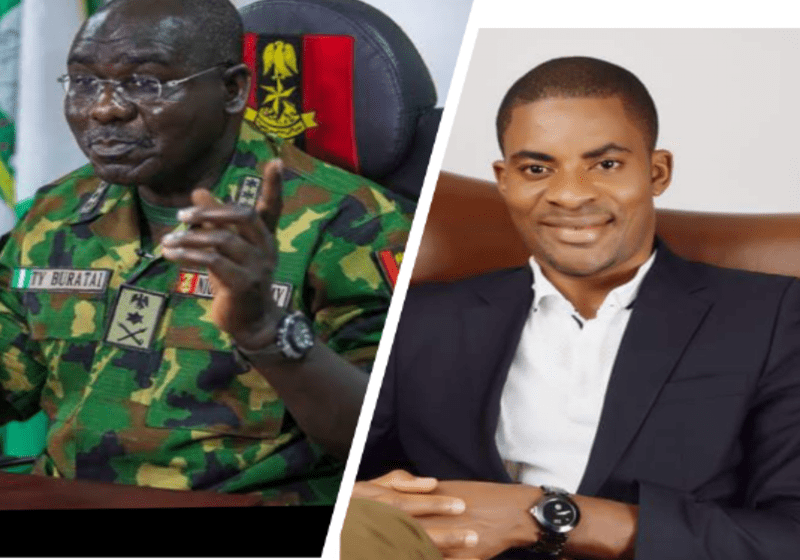 Adeyanju Writes ICC, Calls For Buratai's Arrest For Crimes Against Humanity While in Service
