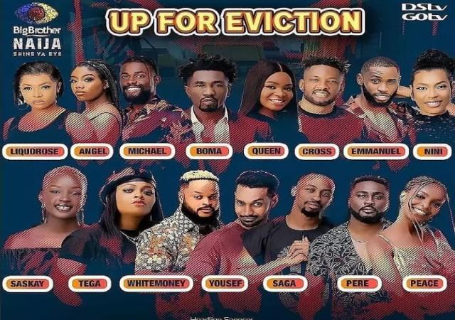 List of BBNaija Housemates Evicted on Sunday September 5, 2021