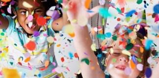 Crianças podem se divertir em bailes com muito confete (Foto: Shopping Iguatemi/Divulgação
