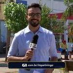 """Episódio ocorreu durante o """"TV TEM Notícias"""", da TV TEM, afiliada da Globo em São Paulo (Imagem: Reprodução / TV TEM)"""