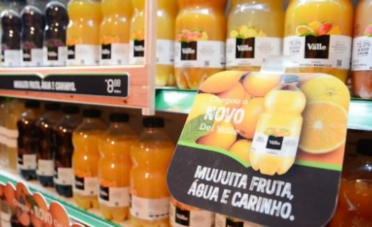 O novo Del Valle poderá ser encontrado nos pontos de venda tradicionais e, nas próximas semanas, na Loja online da Coca-Cola Brasil