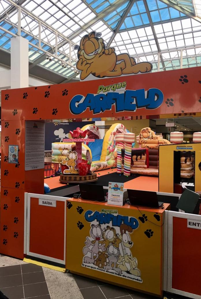 Parque do Garfield chega ao Shopping Iguatemi Esplanada