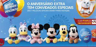 Extra celebra aniversário de 30 anos com Pelúcias Disney