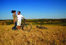 Passeio de bicicleta no Alentejo