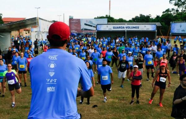corrida Antes da largada haverá uma sessão de aquecimento e alongamento. Foto: João Gelo/ Trail TV.