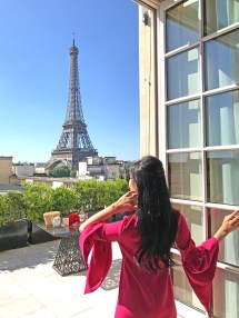 Tina Travels Luxury Hotel With Views Of Eiffel
