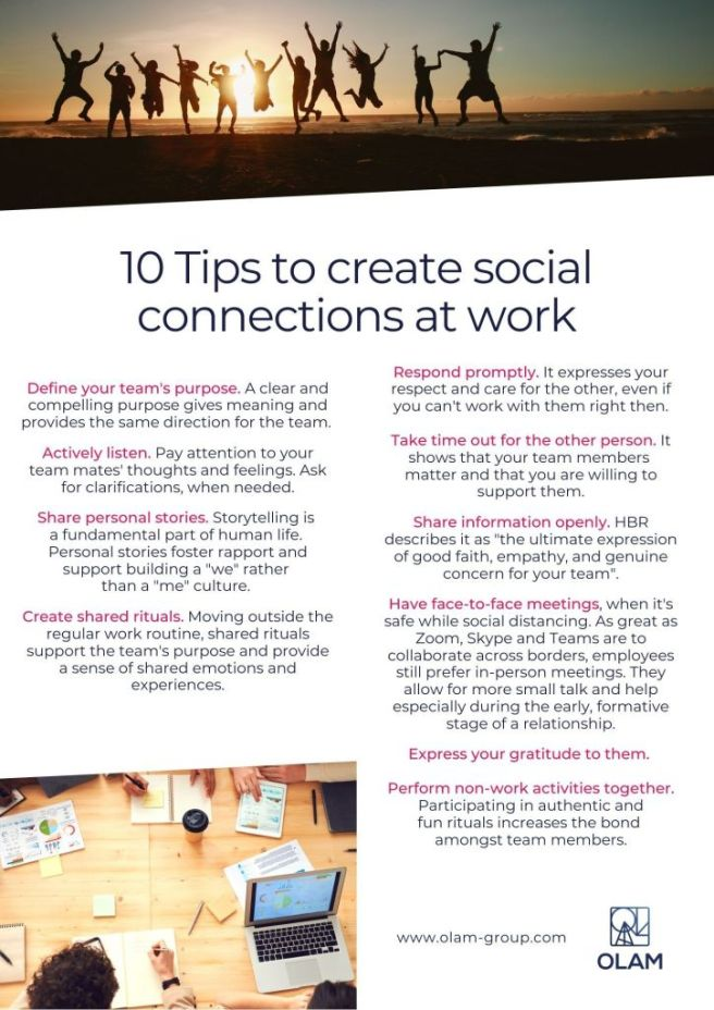 10 Tips Social Connections