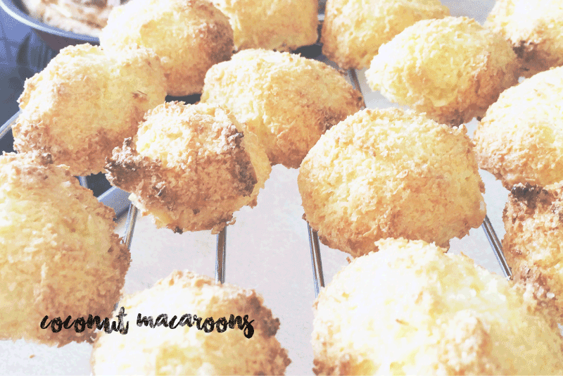 COCONUT MACAROONS - ROCHER COCO
