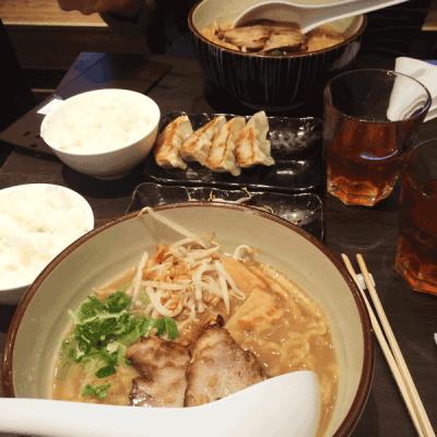 Ramen au porc de chez Takumi, un restaurant japonais dans le Japantown de Düsseldorf