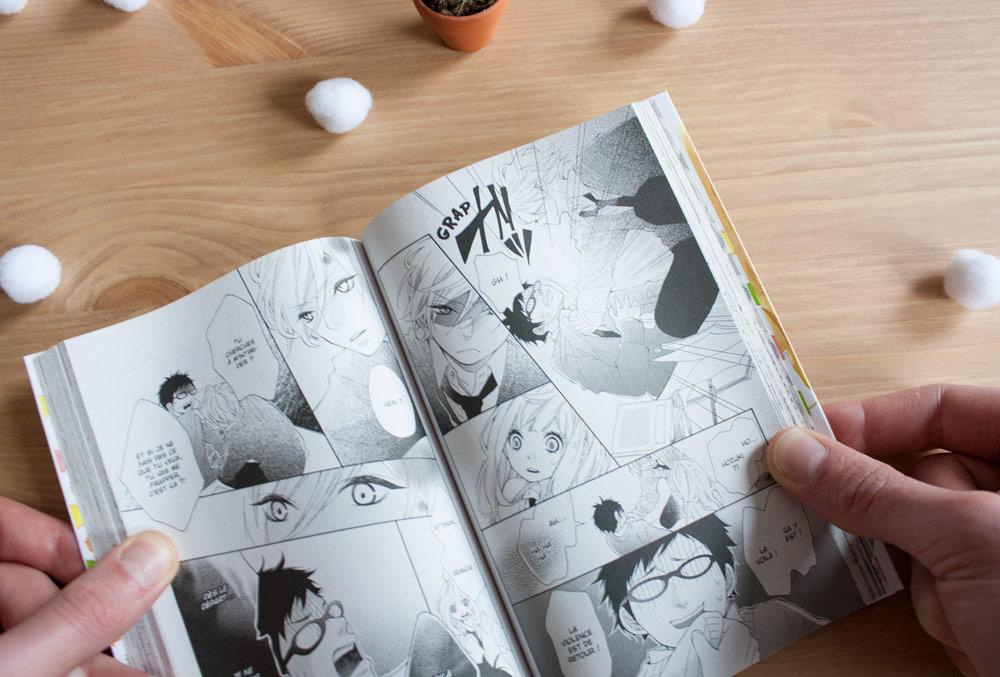 Manga Kazé Coeur de Hérisson Tome 1 série shojo