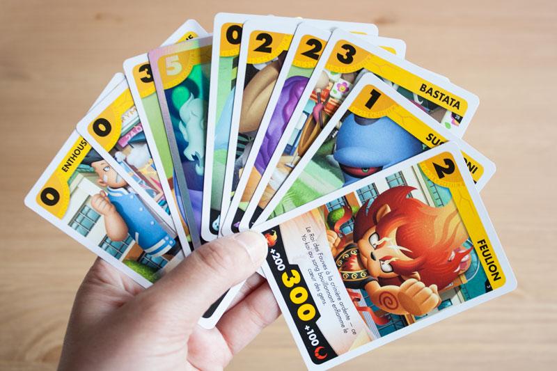 Yo-Kai Watch 3 - Détail cartes à jouer - Manga édité par Kazé - Olamelama - Blog geek et lifestyle