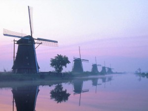 Kinderdijk-Holland