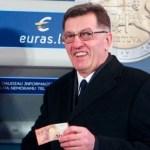 Lietuva tapo 19-ąja euro zonos nare
