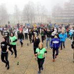 Klaipėdiečiai siekė pasaulio rekordo