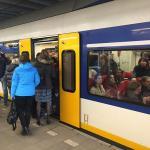 Dėl netikro pavojaus signalo vėluoja traukiniai į  Schipholį