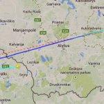 """Į Berlyną iš Vilniaus skridusiame """"Air Lituanicos"""" lėktuve įtrūko pilotų kabinos stiklas – teko grįžti"""
