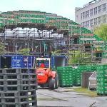 Delfto technologijos universiteto studentai pagerino tilto iš alaus dėžių pasaulio rekordą