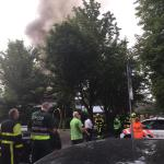Hagoje kilo didelis gaisras pradinėje mokykloje