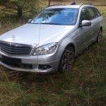 """Vokietijoje vogto """"Mercedes-Benz"""" gaudynės Lietuvoje tęsėsi 17 kilometrų"""