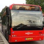 Neblaivus autobuso vairuotojas įsirėžė į policijos nuovados pastatą
