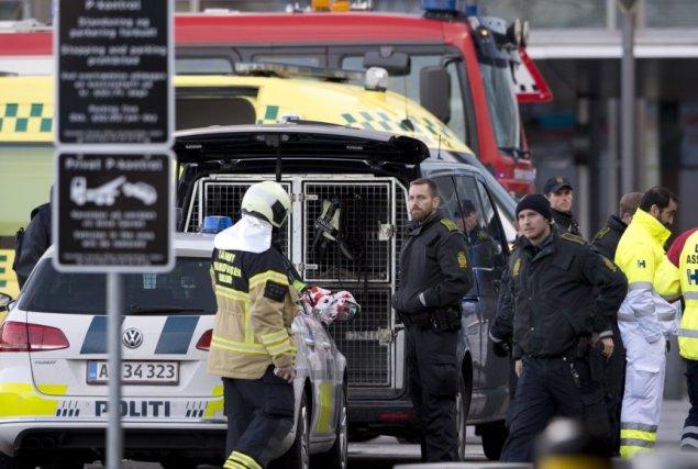 """AFP/""""Scanpix"""" nuotr. / Evakuotas Kopenhagos oro uosto terminalas"""