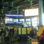 Europinis geležinkelio projektas stringa: vietoj jo, olandai tobulina Šipolio oro uosto traukinių stotį
